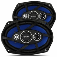 KIT ALTO FALANTE 6X9 QUADRIAXIAL 55W RMS 4 OHMS (ORION)