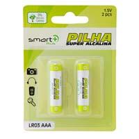 PILHA AAA 1,5V SUPER ALCALINA LR03 (2PCS)
