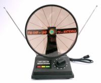 ANTENA INTERNA UHF/VHF/FM PARABOLICA (YB1-041)