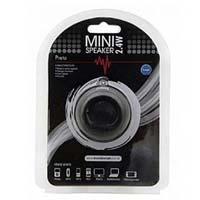 MINI SPEAKER USB 2.4W PRETO ST-M07PO