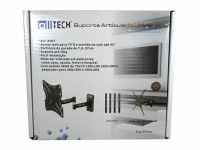 SUPORTE LCD/LED ARTICULADO 3 ART.22 A 42 UNIVERSAL (ALLTECH)