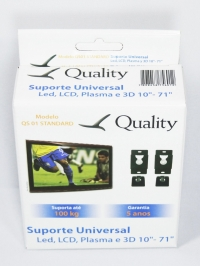SUPORTE LCD/LED/PLASMA UNIVERSAL FIXO 10A 71(QUALITY)