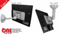 SUPORTE ARTICULADO LCD/LED 19 A 32 TETO/PAREDE C/INCL STPA45