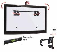 SUPORTE FIXO LCD/LED 26 A 56 LED-180 PT MULTIVISAO
