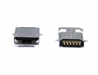 CONECTOR USB FEMEA MINI 12 PINOS DUPLO