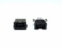 CONECTOR USB FEMEA MINI 4 PINOS