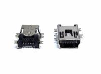 CONECTOR USB FEMEA MINI 5 PINOS V3/GPS