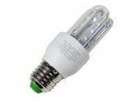 LAMPADA LED TIPO U  5W 6000K E27 (AXU)