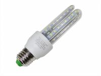 LAMPADA LED TIPO U  9W 6000K E27 (AXU)