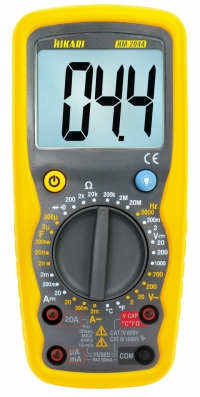 MULTIMETRO DIGITAL HM 2044 1000VDC/20A AC/DC (HIKARI)