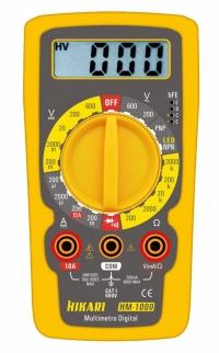 MULTIMETRO DIGITAL HM 1000 (HIKARI)