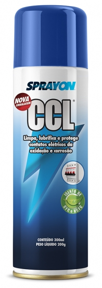 SPRAY CCL LIMP/LUBRI/PROT CONTATOS ELETRICOS 300ML (SPRAYON)