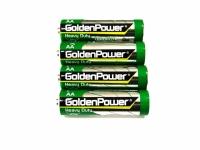 PILHA AA 1,5V GOLDEN POWER GR6M (BL.4PCS)