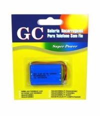 BATERIA TELEFONE 3,6V 600MA AAA (GC)