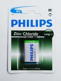 BATERIA 9V LONGLIFE (PHILIPS)