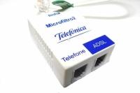 FILTRO ADSL TELEFONE/ADSL C/2 RJ-11 (TELEFONICA)