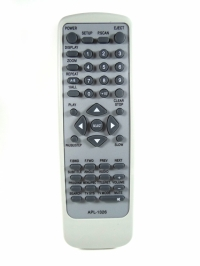 CONTROLE DVD COBY GC-7232