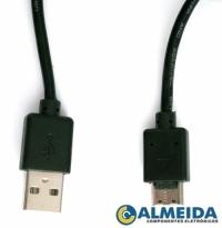 CABO USB MACHO PARA CAMERA SAMSUNG (50CM)