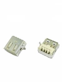 CONECTOR USB FEMEA C/SUPORTE PLACA 90