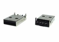 CONECTOR USB MACHO C/SUPORTE PLACA 180