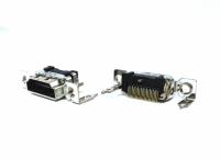 CONECTOR HDMI P/CIRCUITO IMPRESSO C/PARAFUSO