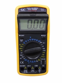 MULTIMETRO DIGITAL COM CAPACIMETRO GC-9205