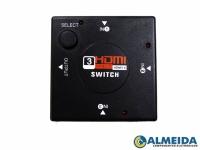 DIVISOR SWITCH HDMI 1 SAIDA X 3 ENTRADAS