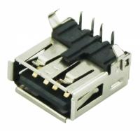 CONECTOR USB FEMEA 90° YH-USB01A (4 PINOS)