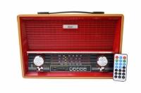 RADIO PORTATIL BLUETOOTH/FM/USB/SD/SW 4 BANDAS GOAL GL-968UB