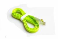 CABO USB MICRO USB V8 SAMSUNG/LG/OUTROS ACHATADO 1,20MTS