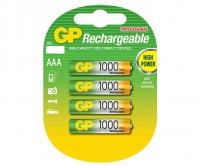 PILHA RECARREGAVEL AAA 1,2V 950MAH BL.4PCS (GP)