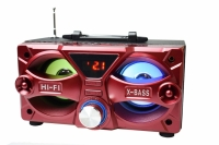 CAIXA DE SOM PORTATIL 10W COM BLUETOOTH/USB/FM/SD EXBOM