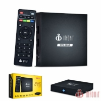 SMART TV BOX QUAD-CORE 2GB RAM + 16 GB ANDROID 6.0.1 INFOKIT